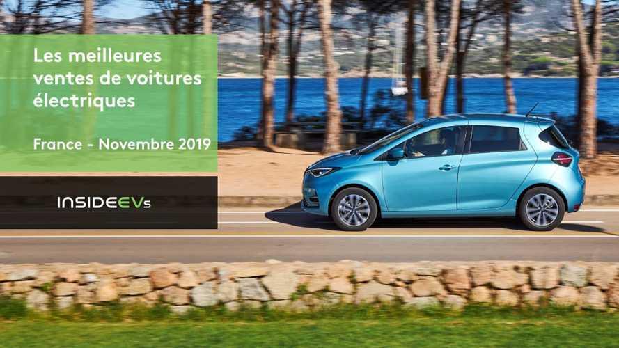 VIDEO - Les 10 voitures électriques les plus vendues en novembre