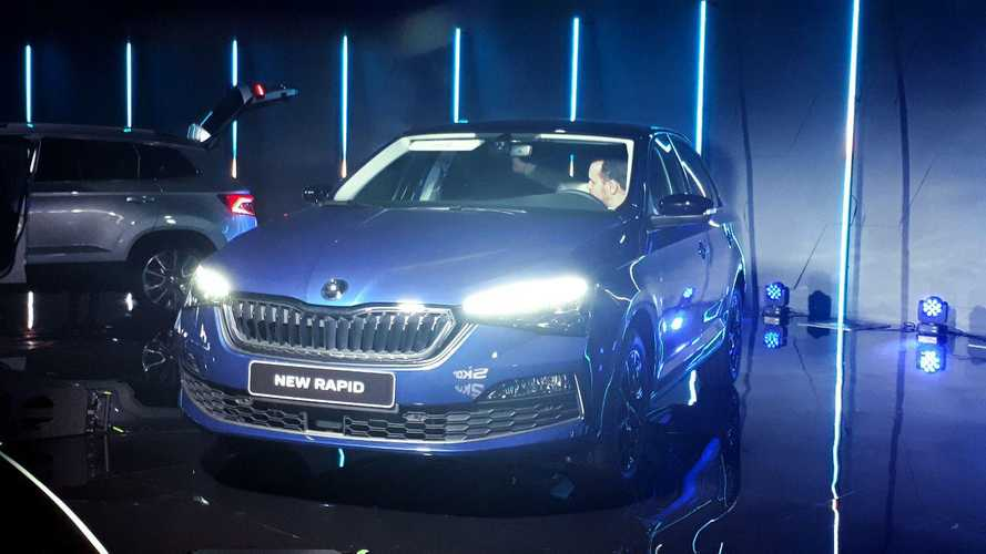 New Skoda Rapid: live photos