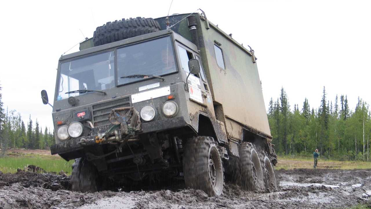 Volvo Off-Roader With Portal Axles, Land Rover Engine Cost $14,000