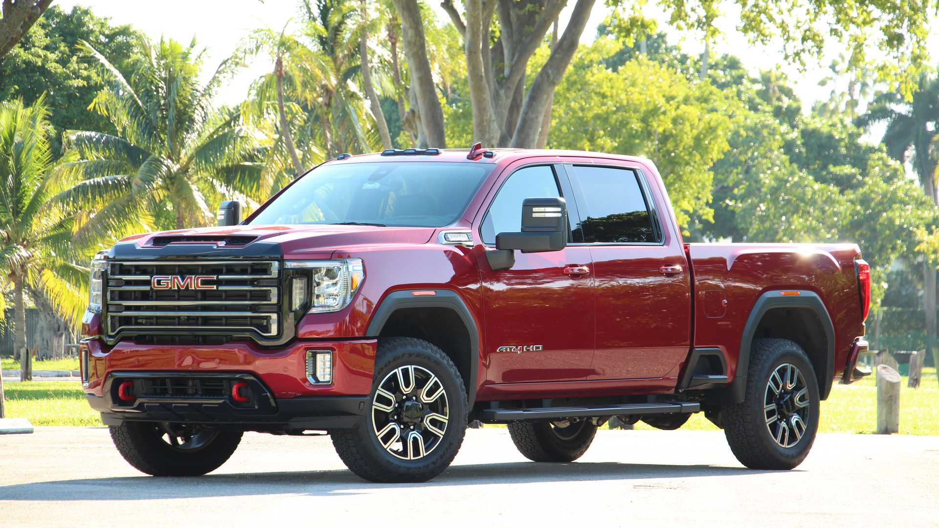 2020 Gmc Sierra 2500 At4 Diesel Review Rugged But Unrefined