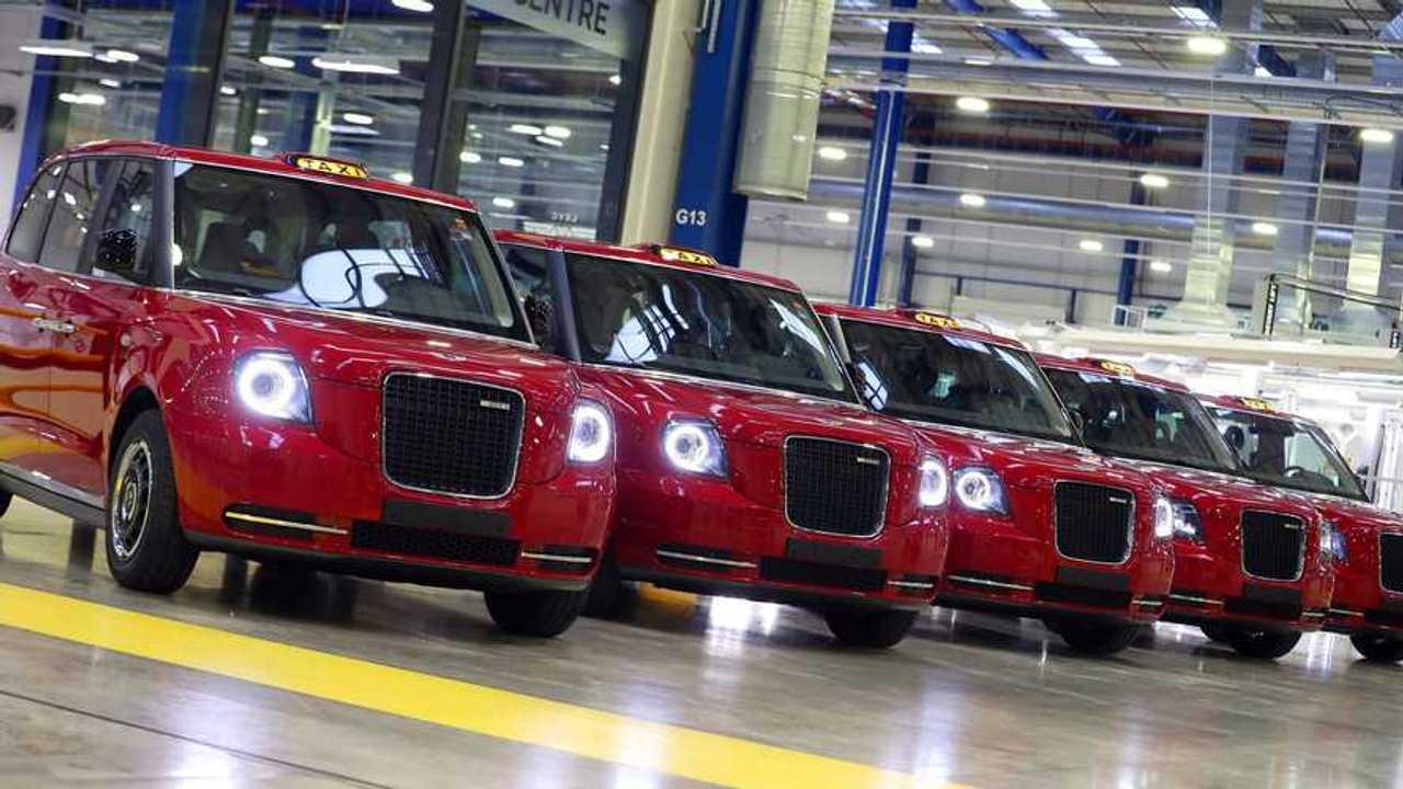 LEVC TX electric taxis for Azerbaijan