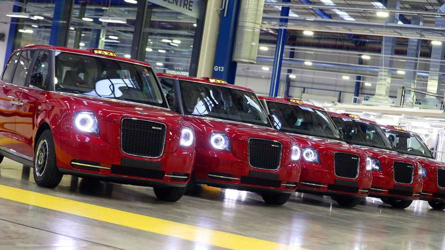 LEVC TX black cabs turn red for Azerbaijan