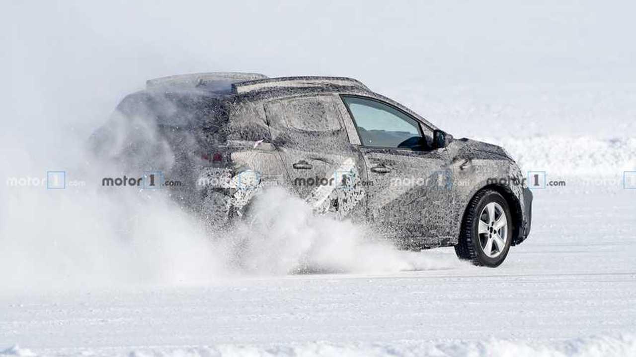 Dacia Sandero Stepway 2020, fotos espía en la nieve