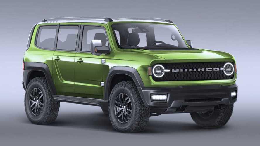 Ford Bronco Release Date >> 2021 Ford Bronco   Motor1.com Photos