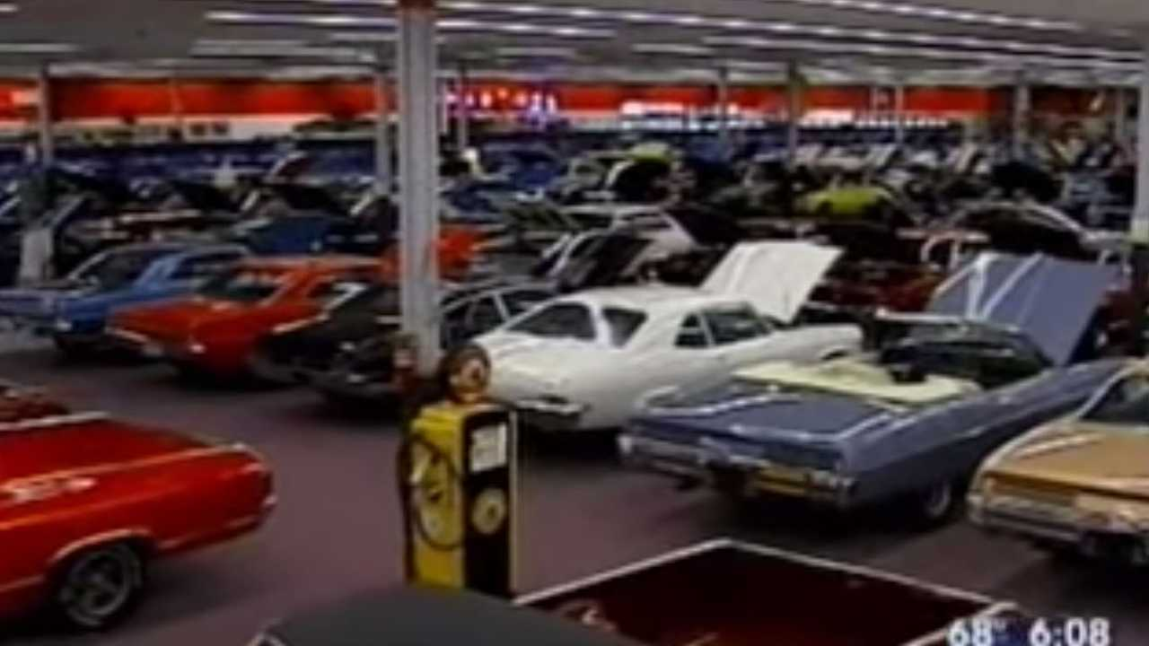 Man Buys A Walmart To Show Off His 225-Car Collectionv