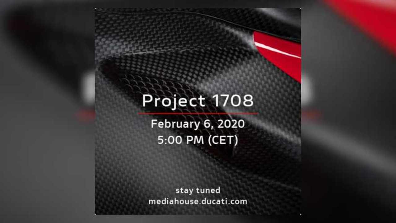 Ducati Superleggera Unveiling Announcement