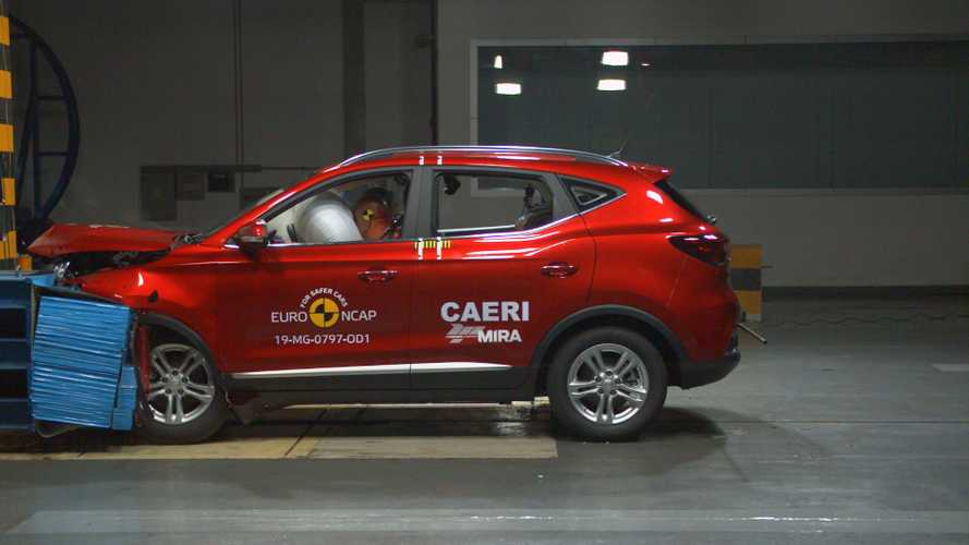 MG ZS EV gets 5-Star Euro NCAP safety rating