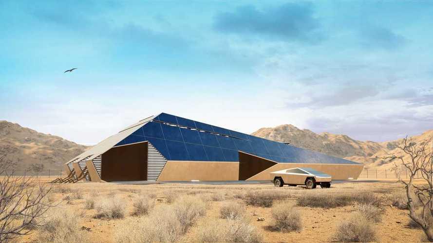 Cyberhouse Protects Against Nukes, Has Tesla Cybertruck Elevator