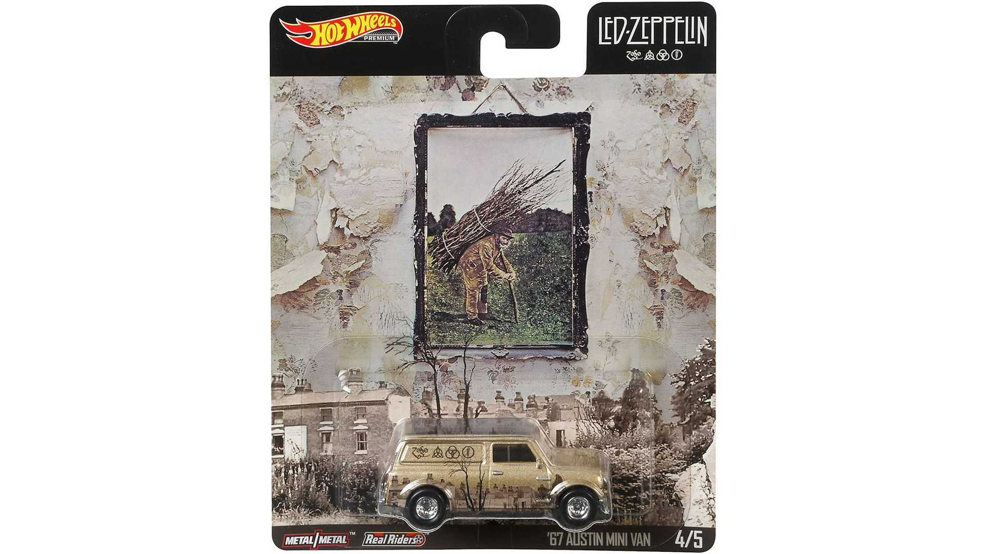 """[""""Led Zeppelin Introduces Hot Wheels Car Collection""""]"""