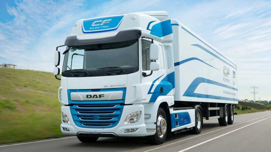 DAF CF Electric roda 150 mil km movido a eletricidade na Europa