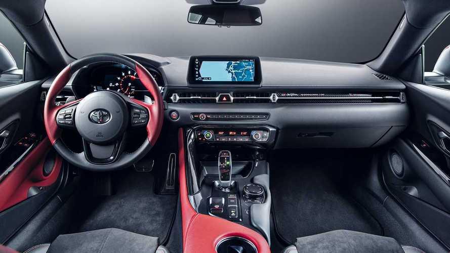 Még a Toyota GR Supra műszerfalát is a BMW gyártotta
