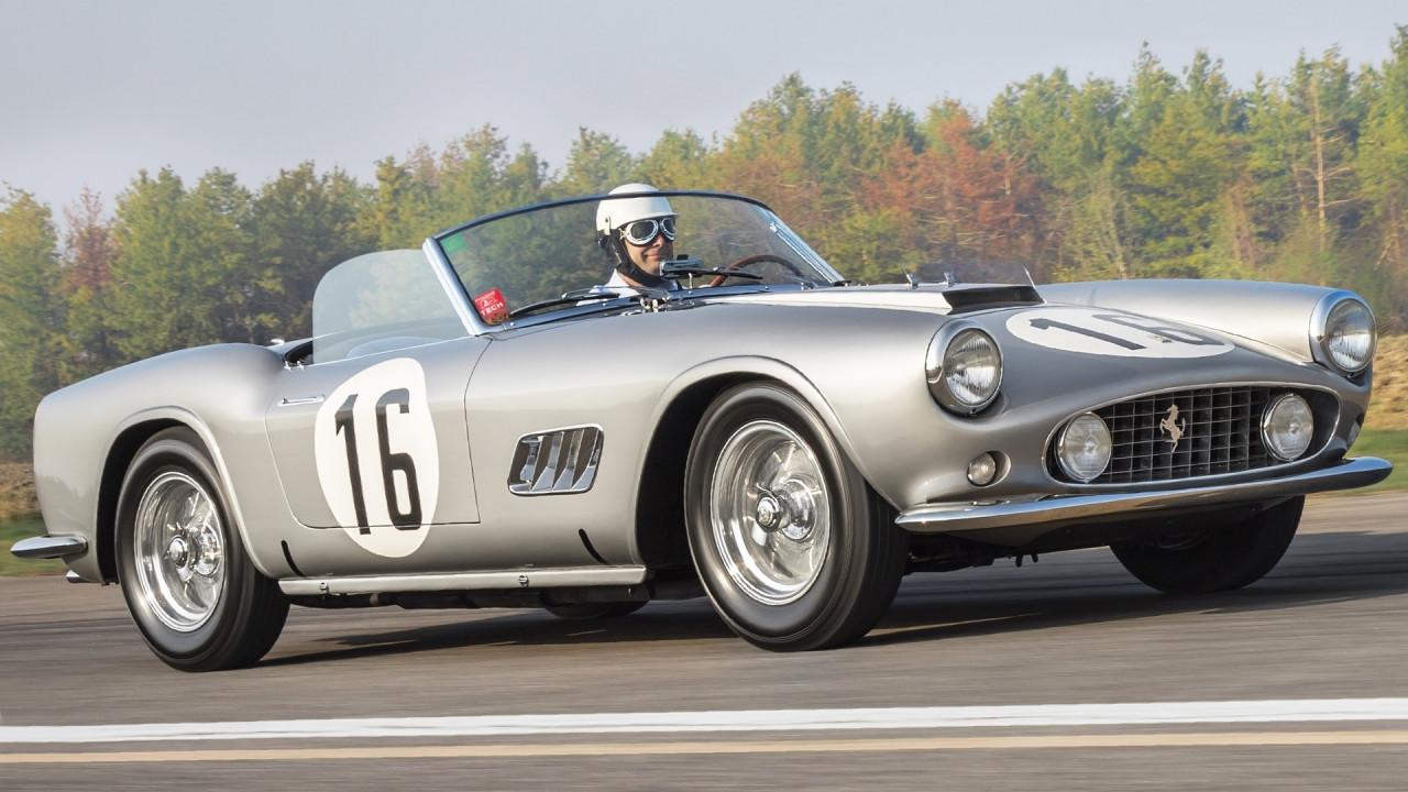 [Copertina] - Ferrari 250 GT Spyder California, una regina di Le Mans all'asta