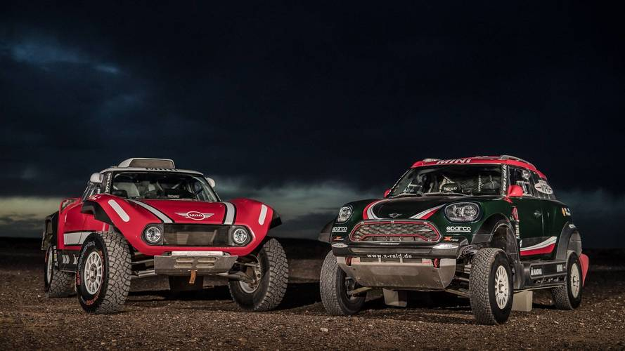 Mini To Battle 2018 Dakar With Rally Car And Buggy