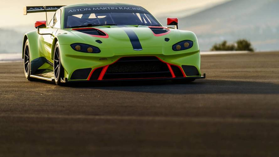 Aston Martin gearing up for new Vantage race debut