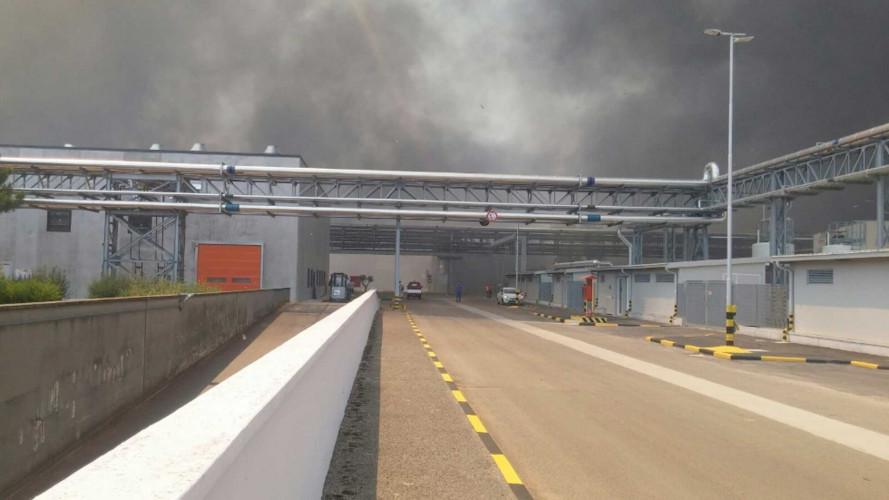 FCA, evacuato lo stabilimento di Termoli per incendio