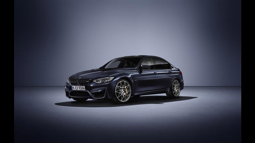"""BMW M3 """"30 Years M3"""", la celebrazione del mito"""