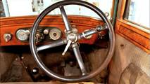 1925 Skoda 110 steering wheel