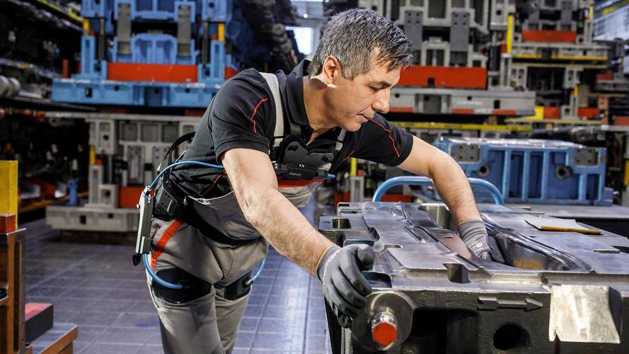 Audi Exoskeleton Makes Workers Bionic, Could Reduce Back Injuries