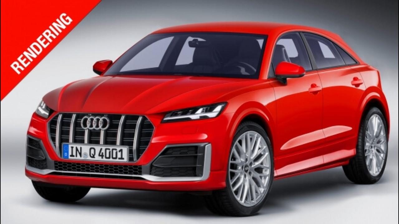 [Copertina] - Audi Q4, nel 2019 il SUV-coupé di lunghezza media
