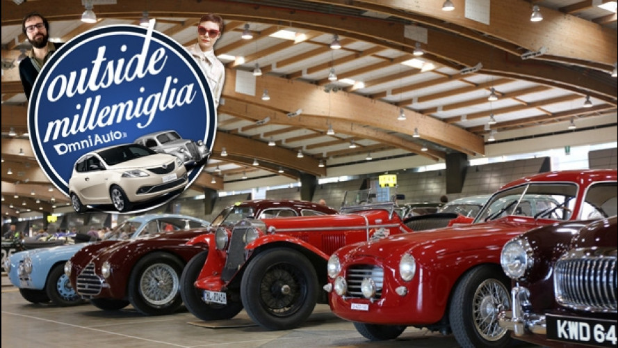 Outside Mille Miglia: non solo punzonatura! [VIDEO]