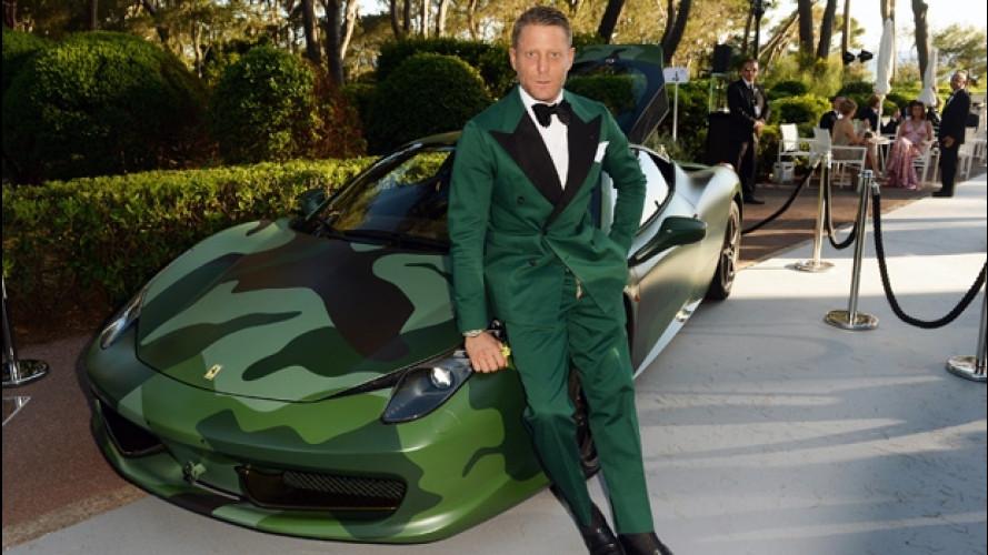 Ferrari 458 Italia, 1 milione di euro per quella Camouflage di Lapo Elkann