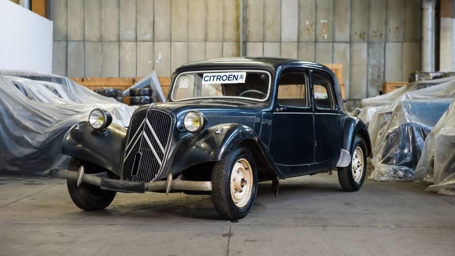 Citroën Heritage Collection kapsamında satılan 65 araç