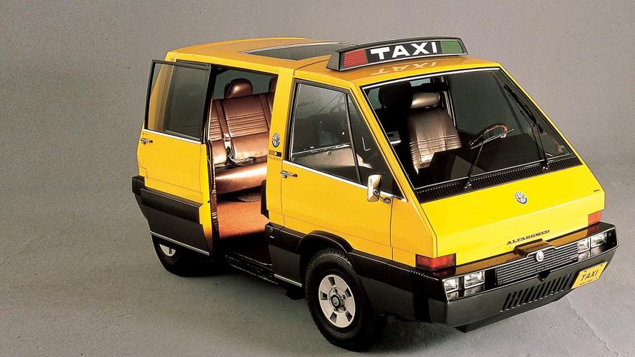 Alfa Romeo New York Taxi, se l'auto pubblica è firmata Giugiaro