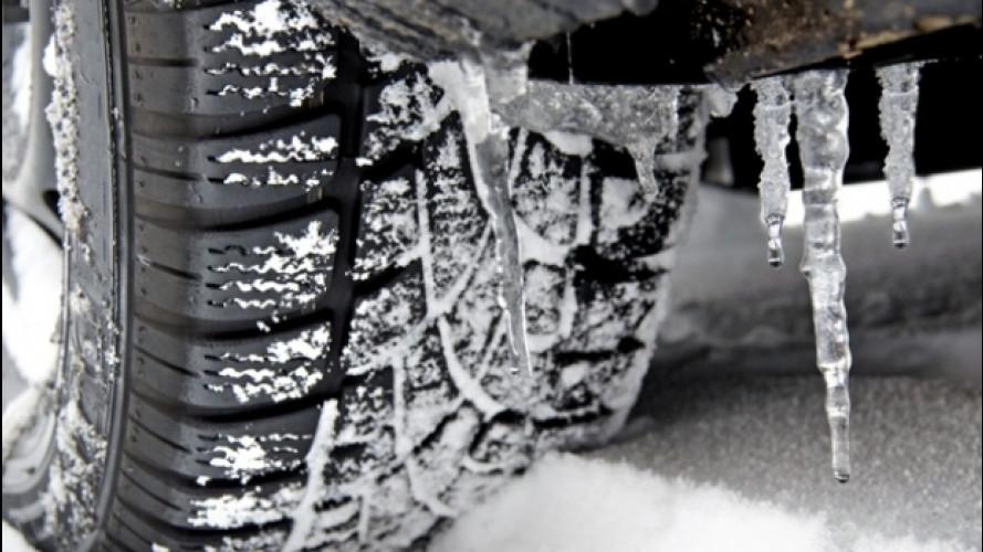 Mercedes deposita un brevetto per scongelare le ruote