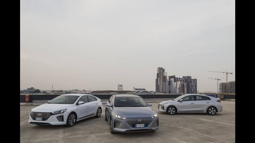 Hyundai Ioniq, a ciascuno la sua