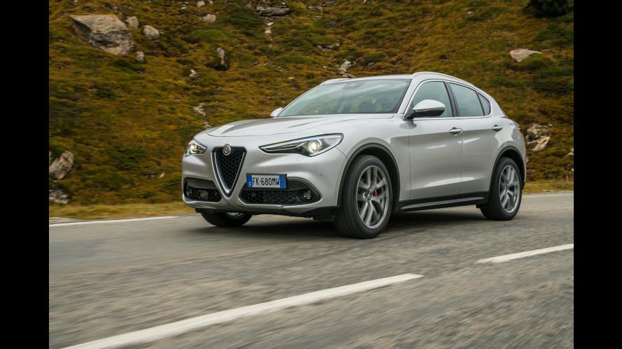 """Alfa Romeo Stelvio Q2, non per forza 4x4! Ecco come va con le """"invernali"""" Hankook"""
