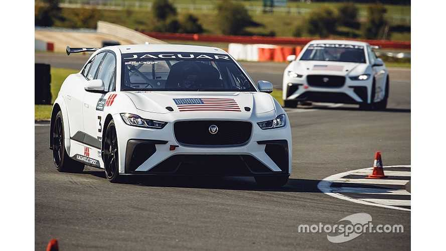 Jaguar eTrophy Racing Series Conducts First Tests
