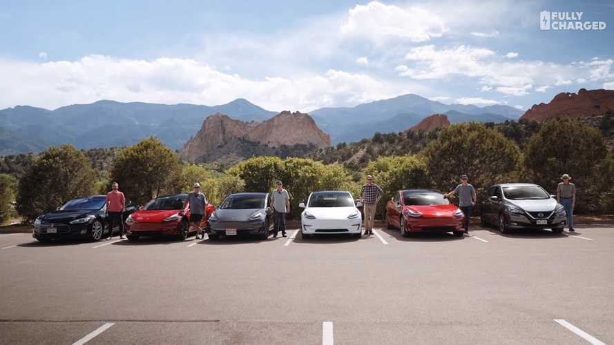 Fully Charged Visits Colorado To Check Out The Tesla Model 3