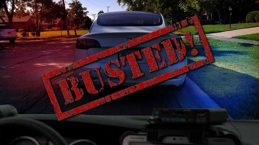 Tech Forum Gets Busted For Speeding In Tesla Model 3