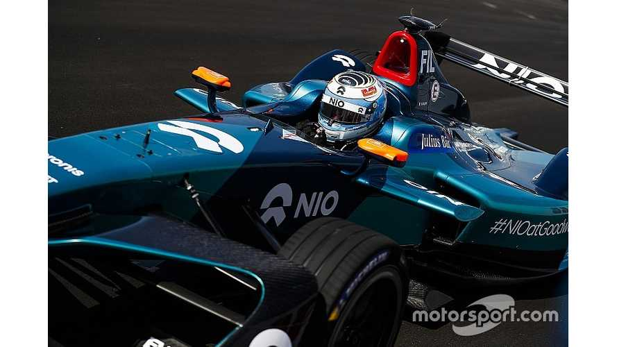 NIO Drops Filippi From Formula E Line-Up
