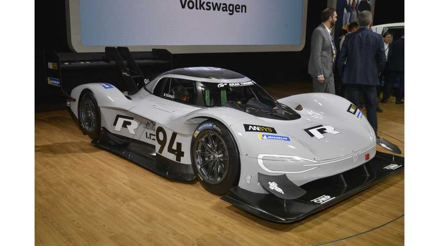 Volkswagen I.D. R Electric To Go After Nürburgring Record