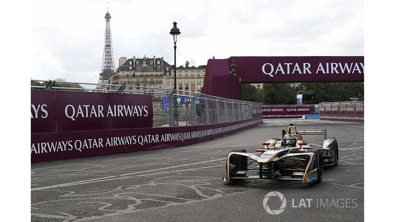 Vergne Grabs Pole At Formula E Paris ePrix