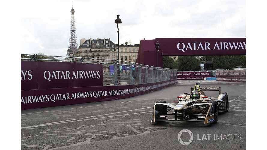 Vergne Grabs Pole At Formula E Paris ePrix
