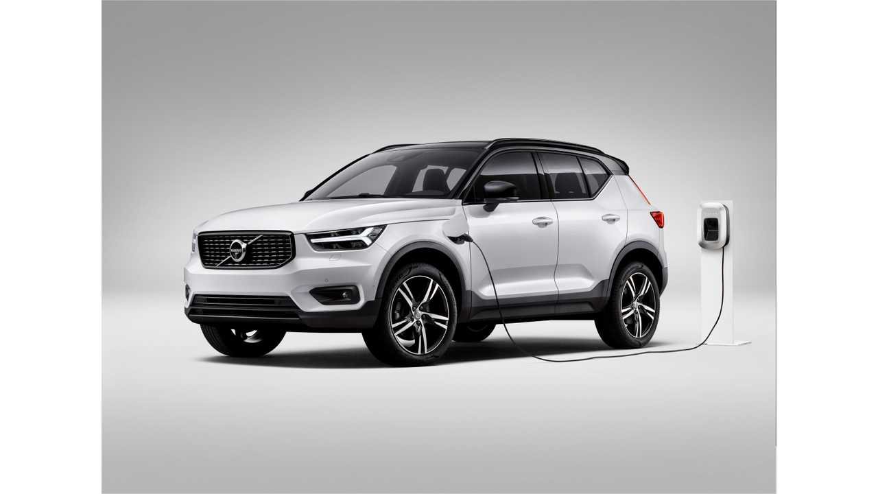 Volvo Says 50% Of Car Sales Will Be All-Electric By 2025