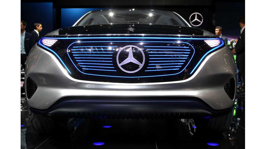 Mercedes-Benz Releases 360-Degree Video Of Generation EQ Electric SUV