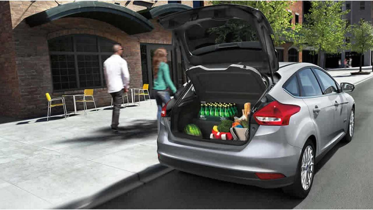 2017 Ford Focus Electric Rear Battery