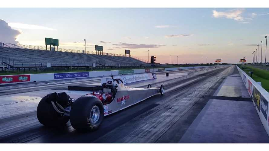 """Panic in Detroit"" Sets Dragster 1/4 Mile Run Record - 7.24 @ 186mph - Video"