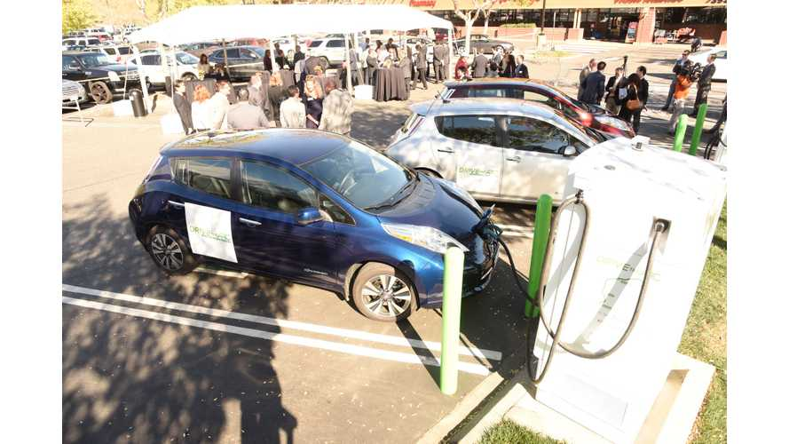 """DRIVETHEARC"" EV Fast Charging Corridor Breaks Ground In Northern California - 50 New Chargers By March 2017"