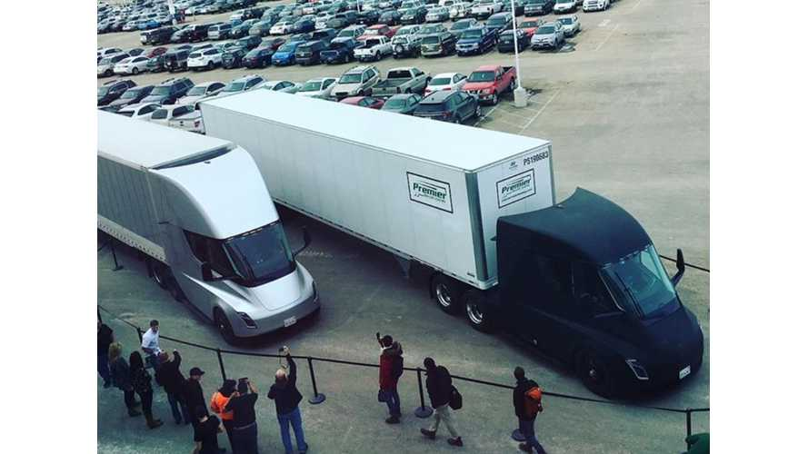 Tesla Semi Makes Its First Delivery Run