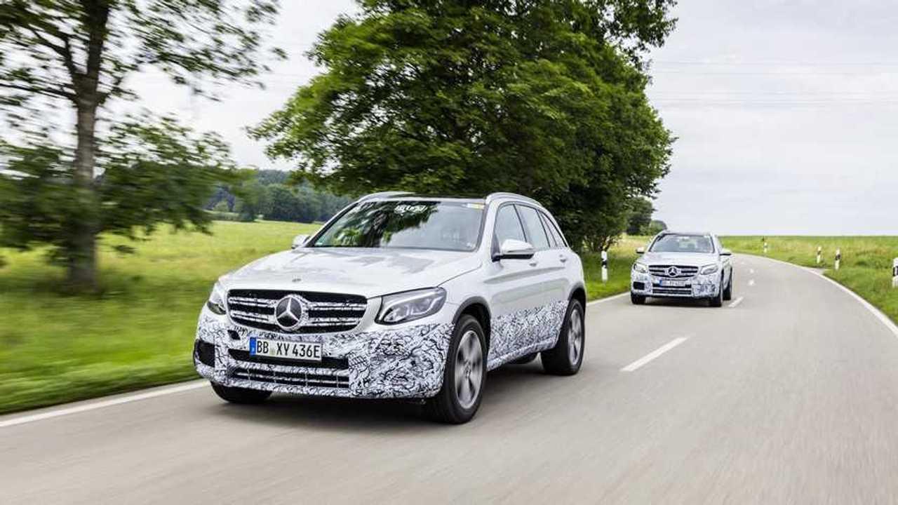 Plug-In Mercedes GLC F-Cell Previewed Ahead Of Frankfurt Debut (w/video)