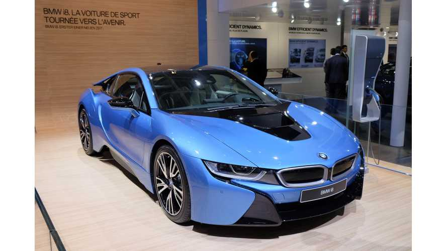 Used BMW i8 Pricing Starting To Fade, At Least In UK