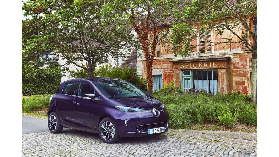 Plug-In Electric Car Sales In France Improved By 28% In October 2018