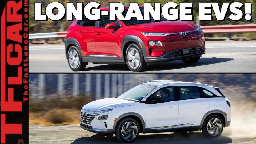 The Fast Lane Car Check Outs Hyundai Kona Electric & Nexo