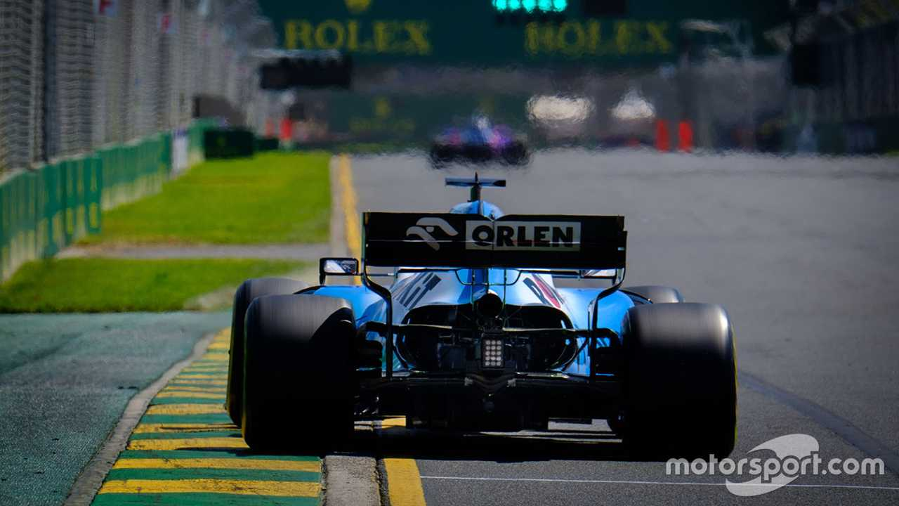 George Russell at the Australian GP 2019
