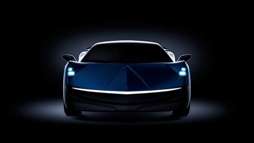 Electric Elextra Sedan Shows More Of Its Front & Rear