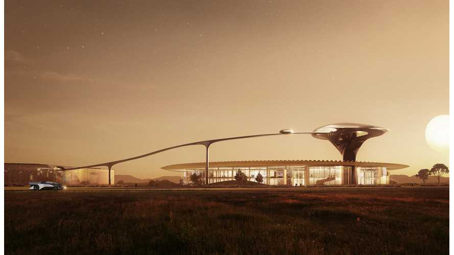 Architect Renders A Faraday Future Headquarters Of Our Dreams